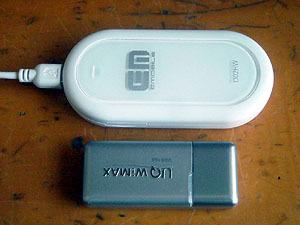 Try WiMAXとイーモバイル